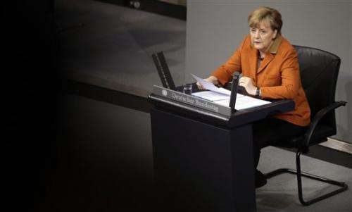 German leader: spying on allies harms security (Update)