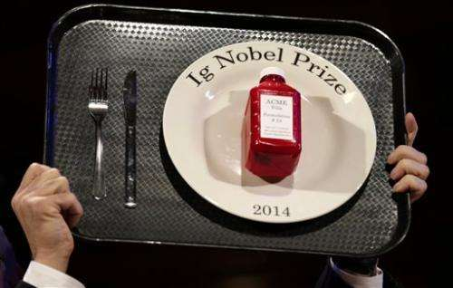 Ig Nobel winner: Using pork to stop nosebleeds