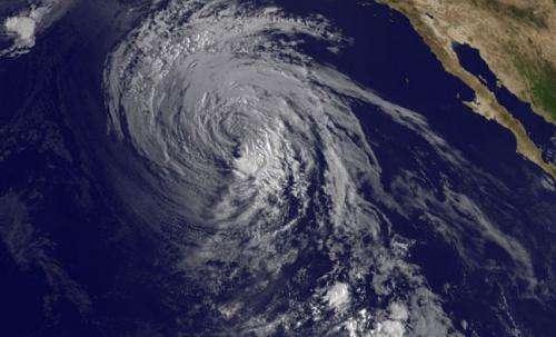 NASA sees a weaker Tropical Storm Marie