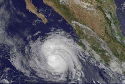 NASA sees Hurricane Cristina making a reverse in strength