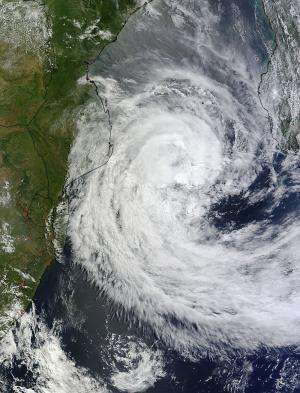 NASA's TRMM satellite saw extreme rainfall from Tropical Cyclone Guito