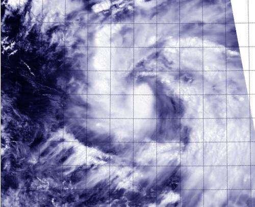 Newborn Tropical Storm Phanfone triggers warnings in Northwestern Pacific