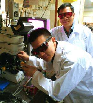 NUS scientists use simple, low cost laser technique to improve properties and functions of nanomaterials