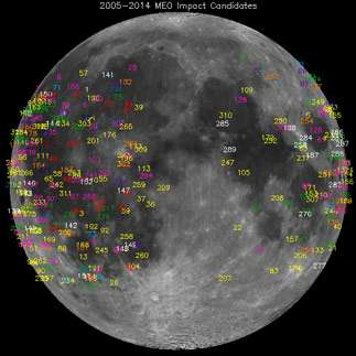 Potential weekend meteor shower will also affect the moon