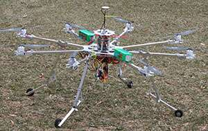 Student designs drone to study starlings