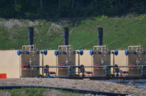 Studying fracking's effects, up close and personal