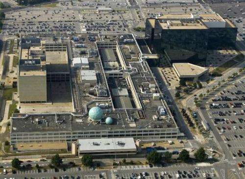 The National Security Agency is seen on May 31, 2006 in Fort Meade, Maryland, a suburb of Washington, DC