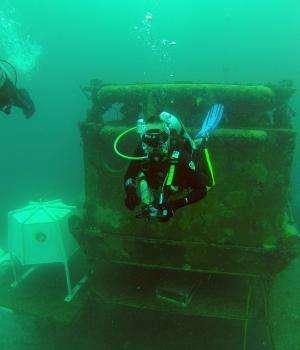 Underwater James Bond