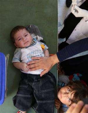 UN undertakes polio vaccination campaign in Iraq