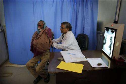 Weavers' villages in India suffer TB epidemic