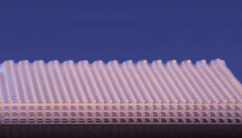 Researchers create engineered energy absorbing material