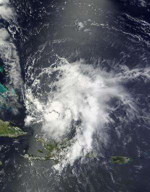 NASA sees Tropical Storm Bertha leaving the Bahamas