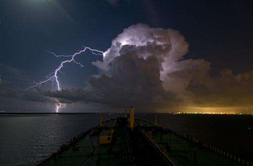 Climate change could increase thunderstorm severity