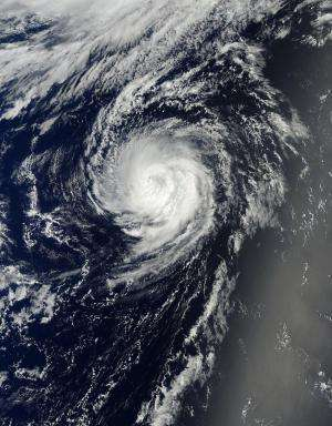NASA sees Tropical Storm Julio now far from Hawaii