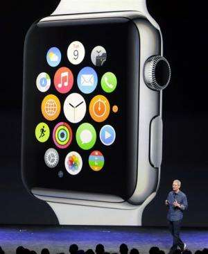 Apple reveals larger iPhones and smartwatch