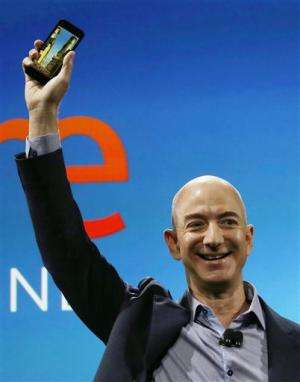 Bezos: Fire phone offers 'something different'