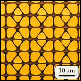 Creating nanostructures using simple stamps