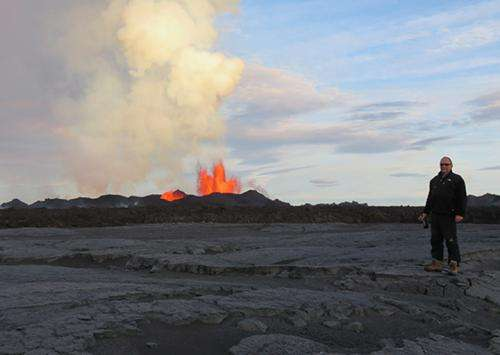 Icelandic volcano system has been spewing lava since early September