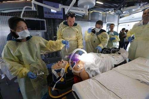 LA doctors practice speeding up trauma care