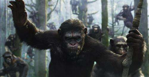 Movement pro transforms actors into apes on film