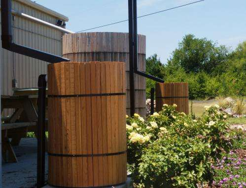 Rainwater harvesting 'soaking in' as way to conserve Texas' water resources