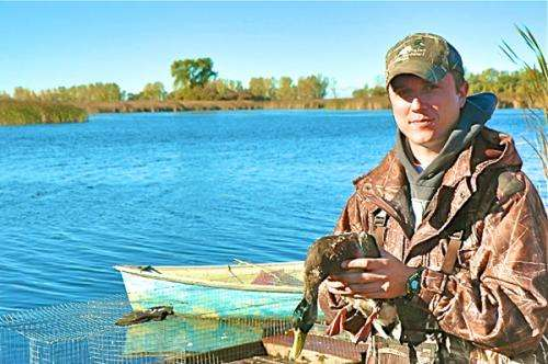 Researcher looks to save an endangered duck habitat