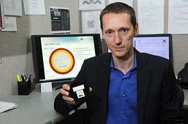 Researcher uses code to test nuclear fuels