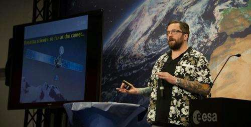 Rosetta instrument will make invaluable discoveries, says ESA scientist Matt Taylor