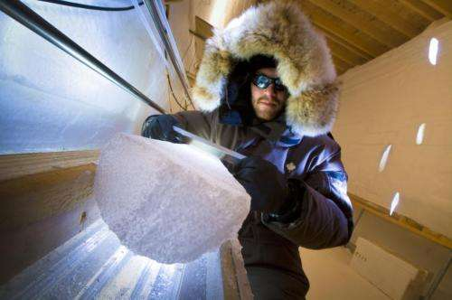 Study resolves discrepancy in Greenland temperatures during end of last ice age