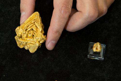 World's largest single crystal of gold verified at Los Alamos
