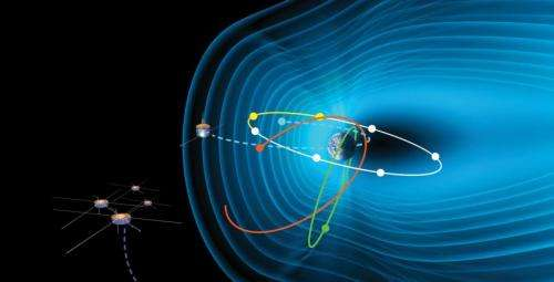 Researchers use NASA and other data to look into the heart of a solar storm
