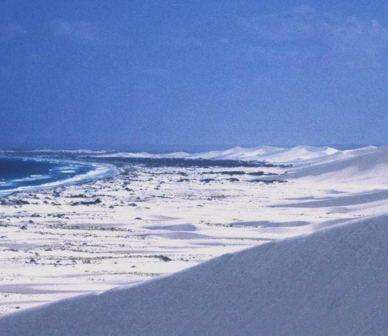 Climate change to put dunes on the move