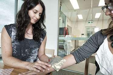 3D model skin burnt to find better bandages for child burns victims