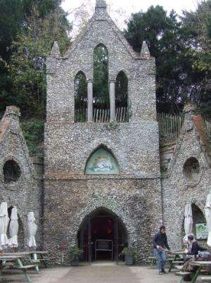 3D scan of the Hell-Fire Caves of West Wycombe