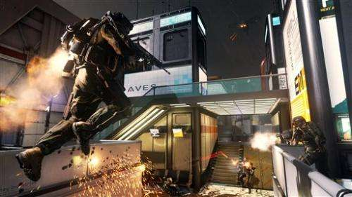 'Advanced Warfare' jumps past predecessors (Update)