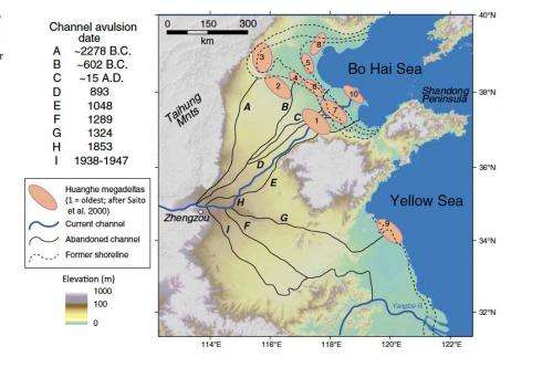 Ancient levee system set stage for massive, dynasty-toppling floods in China