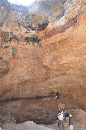 Dig this: Ancient bones found in Wyoming cave
