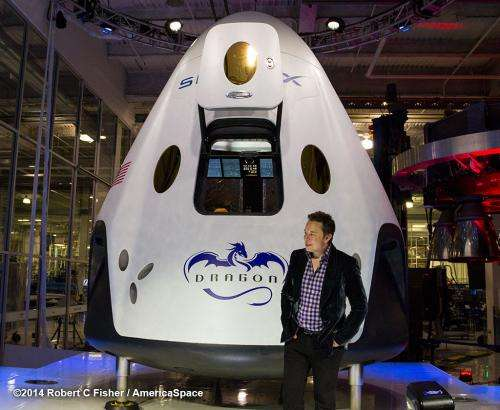 First look inside SpaceX's new crew transporter