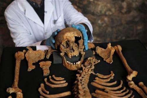 London skeletons reveal secrets of the Black Death