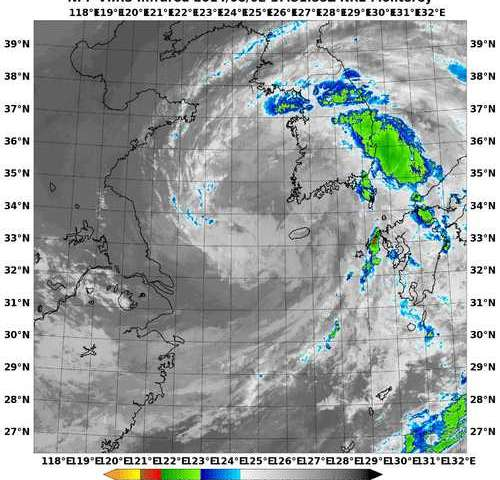 NASA catches the brief life of Tropical Storm Nakri