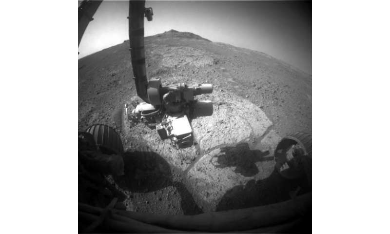 Red planet pictures show Mars in the eyes of the rovers