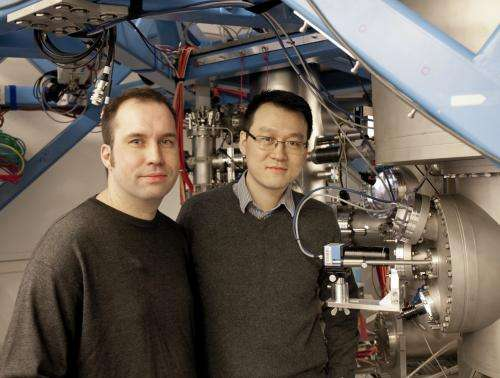Researchers move an atom inside a crystal and investigate its function