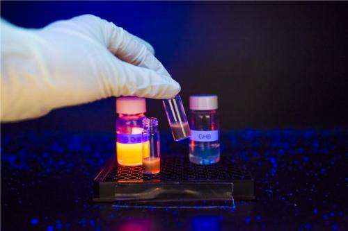 Researchers develop world's first fluorescent sensor to detect common illicit date rape drug within seconds