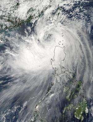NASA sees Tropical Storm Fung-Wong move through East China Sea