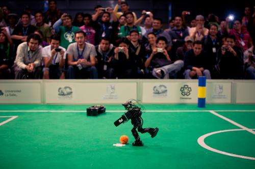 Inside the competitive world of robot football