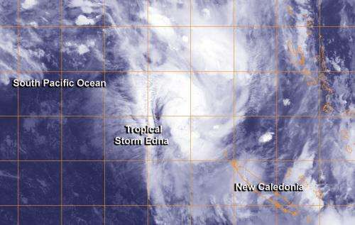 NASA satellite catches Australia's newborn Tropical Storm Edna and stubborn Fletcher
