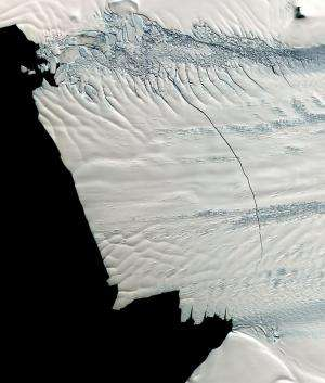 New study shows major increase in West Antarctic glacial loss