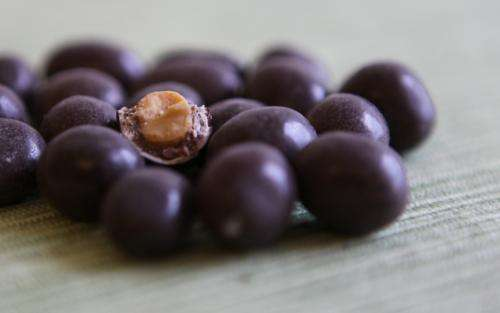 Research explains how you bite off the chocolate from nuts