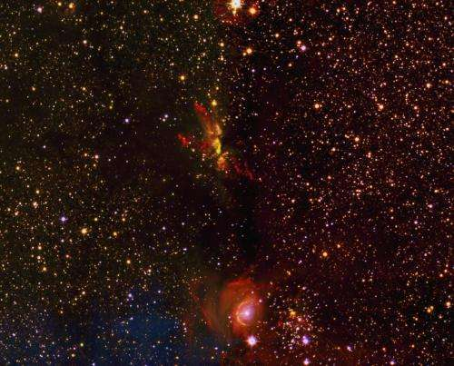 Research finds numerous unknown jets from young stars and planetary nebulae