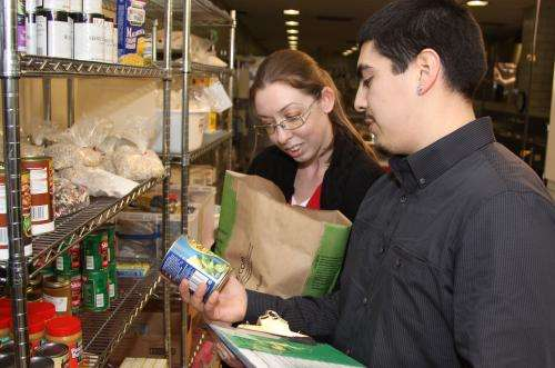 Study identifies high level of 'food insecurity' among college students
